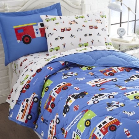 Olive Kids Heroes Full Size 7 piece Bed in a Bag Set
