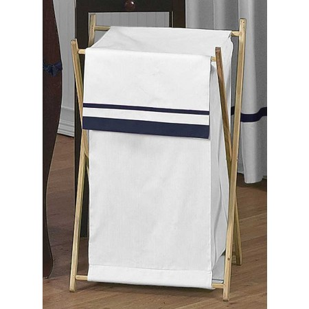 Hotel White & Navy Blue Hamper