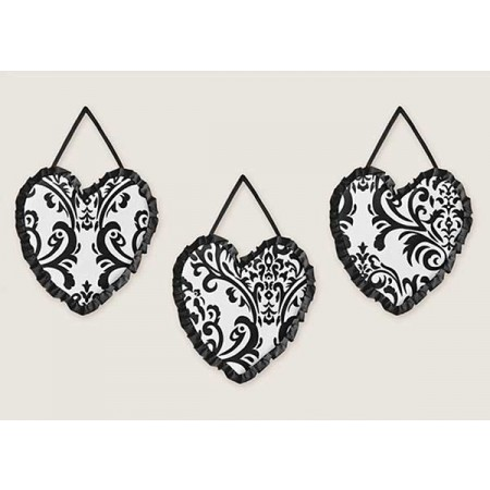 Isabella Black Wall Hanging