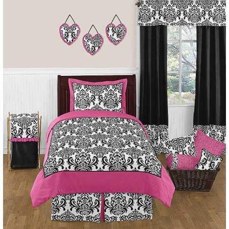 Isabella Pink Bedding Set - 4 Piece Twin Size By Sweet Jojo Designs