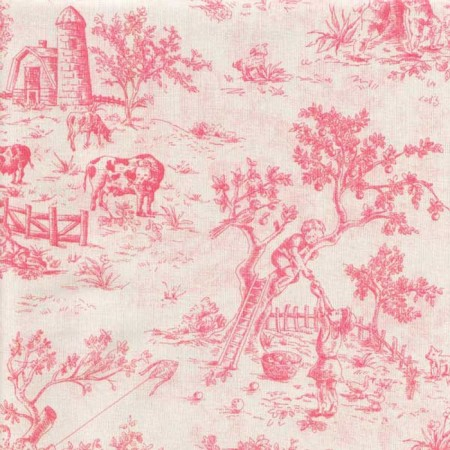 Isabella Pink Rod Pocket Drapes by California Kids