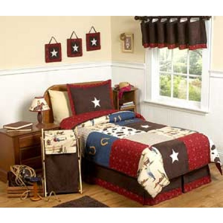 Wild West Cowboy Western Bedding Set - 4 Piece Twin Size By Sweet Jojo Designs