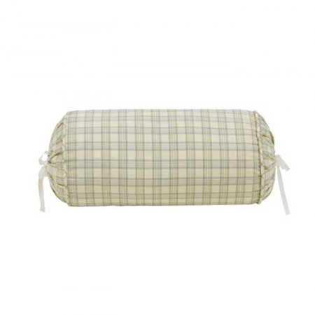 Laura Plaid Neckroll Pillow