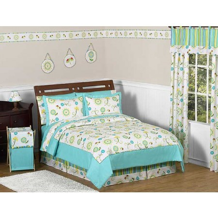 Layla Bedding Set - 4 Piece Twin Size By Sweet Jojo Designs
