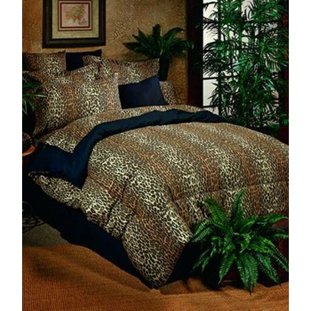 Leopard Print Bed in a Bag Set