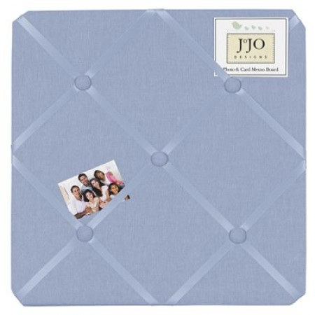 Chambray Fabric Memo Board