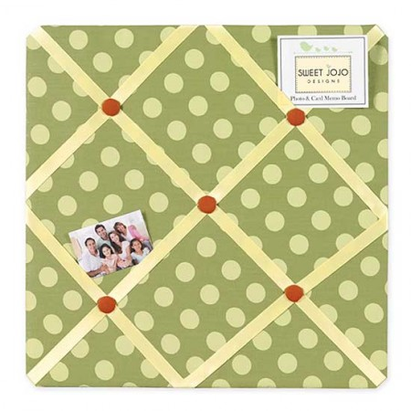 Forest Friends Fabric Memo Board