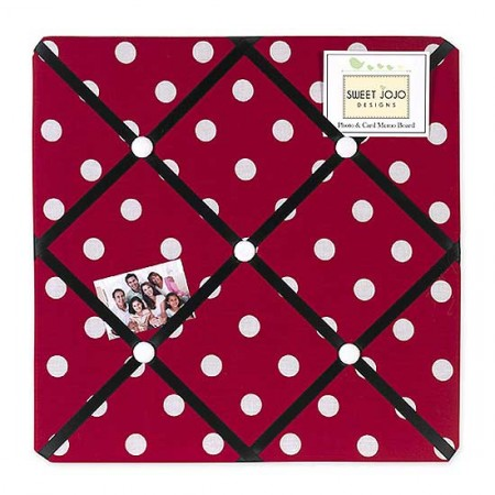 Little Ladybug Fabric Memo Board