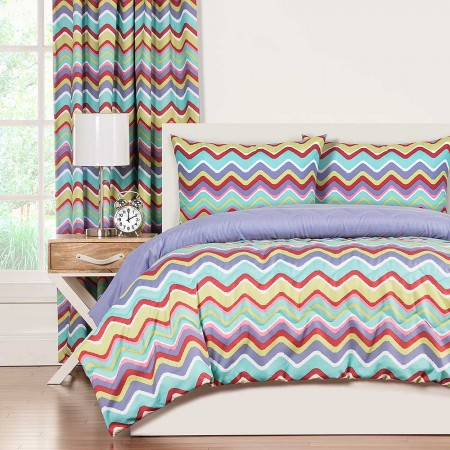 Crayola Mixed Palatte Comforter Set - Full Size