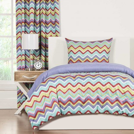 Crayola Mixed Palatte Comforter Set - Twin Size