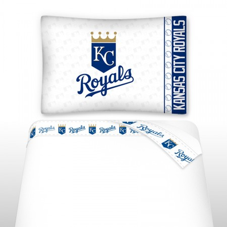 Kansas City Royals Micro Fiber Sheet Set