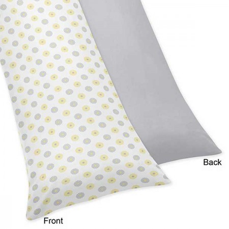 Mod Garden Body Pillow Cover