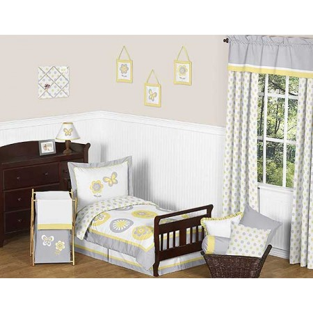 Mod Garden Toddler Bedding Set By Sweet Jojo Designs
