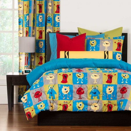 Monster Friends Comforter Set From Crayola
