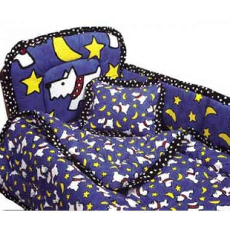 Moon Doggie Crib Bedding by California Kids