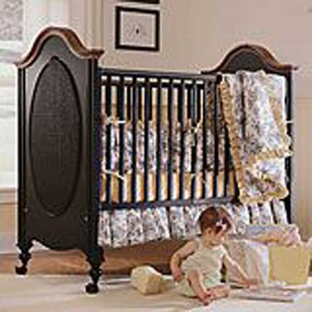 Ma Marie 4 Piece Crib Bedding Set by California Kids