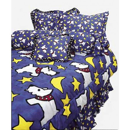 Moon Doggie XL Twin Size Hugger Comforter for Dorm Rooms by California Kids