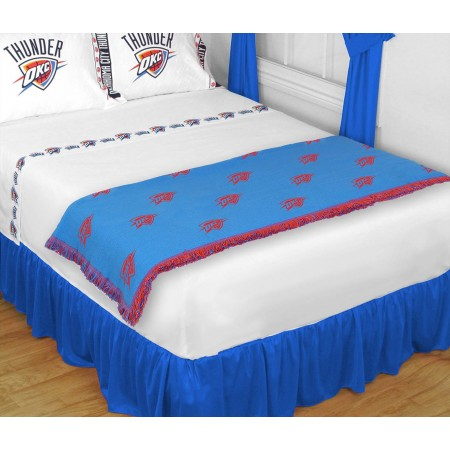 Oklahoma City Thunder Bed Runner - Throw Blanket