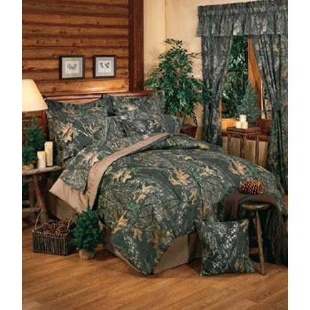 Mossy Oak New Break Up Comforter Set - Queen Size