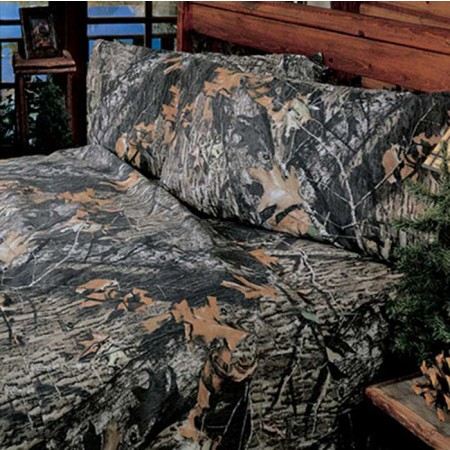 Mossy Oak New Break Up Camouflage Sheet Set