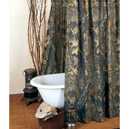 Mossy Oak New Break Up Camouflage Shower Curtain