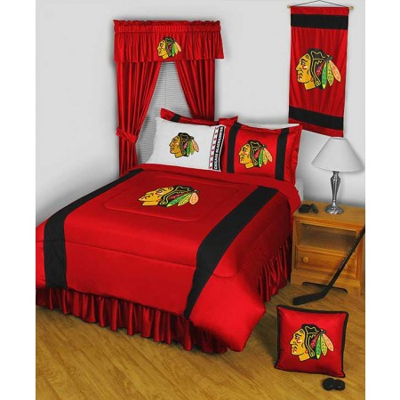 Chicago Blackhawks Bedding - Sideline Comforter