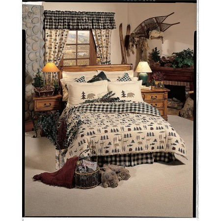 Northern Exposure Comforter Set - King Size
