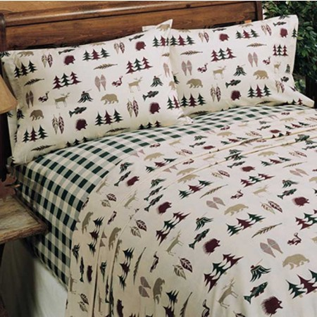 Northern Exposure Sheet Set - Twin Size