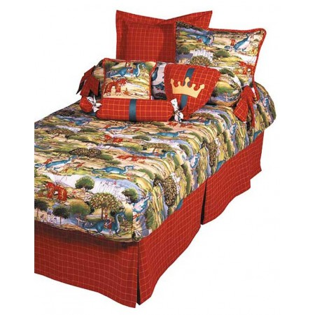 Nottingham Dragon Print Bunkbed Hugger Comforter by California Kids