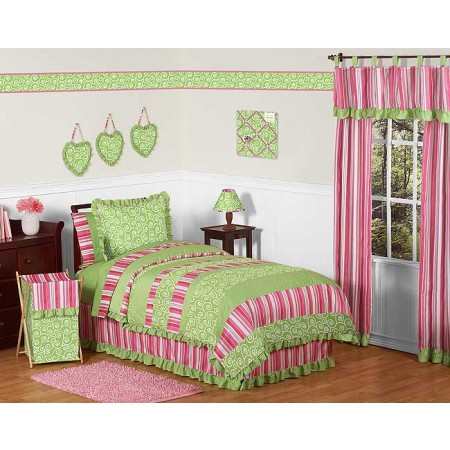 Olivia Comforter Set - 4 Piece Twin Size By Sweet Jojo Designs