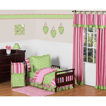 Olivia Toddler Bed Set By Sweet Jojo Designs