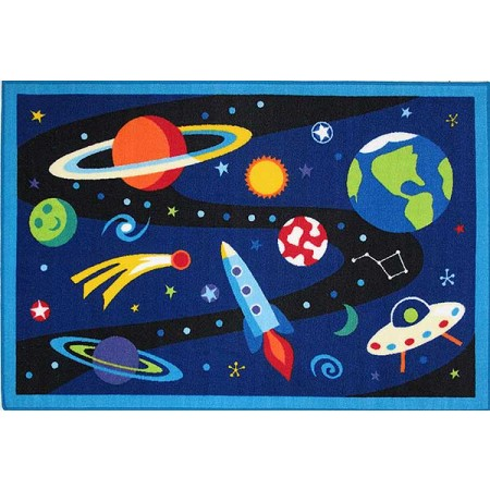 Olive Kids Out of this World Rug from Fun Rugs