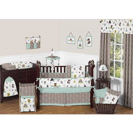 Outdoor Adventure Crib Bedding Set by Sweet Jojo Designs - 9 piece