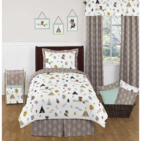Outdoor Adventure Bedding Set - 4 Piece Twin Size by Sweet Jojo Designs