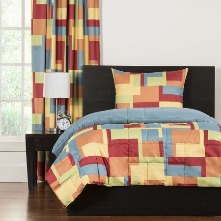 Crayola Paint Box Comforter Set - Twin Size