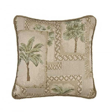 Palm Grove 18 X 18 Square Pillow