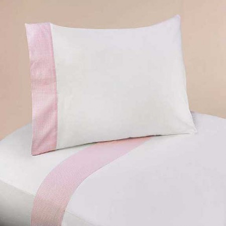 Pink French Toile Sheet Set