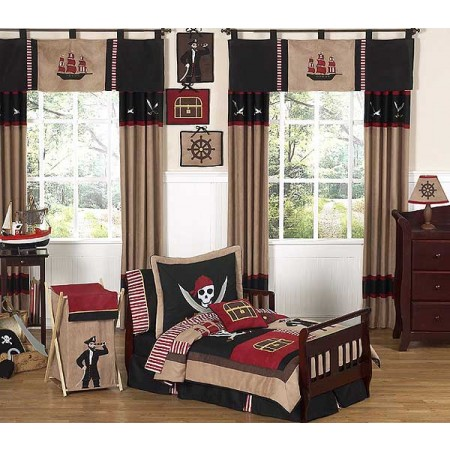 Pirate Treasure Cove Toddler Bedding Set By Sweet Jojo Designs