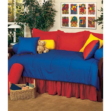 Primary Colors Daybed Set - Yellow