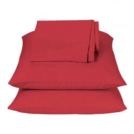 Solid Red Sheet Set - Full Size from the Primary Colors Collection