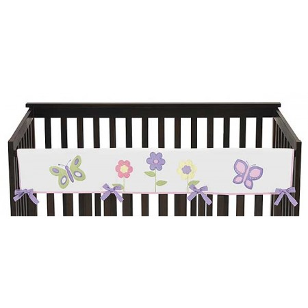 Butterfly Pink & Purple Collection Long Rail Guard Cover
