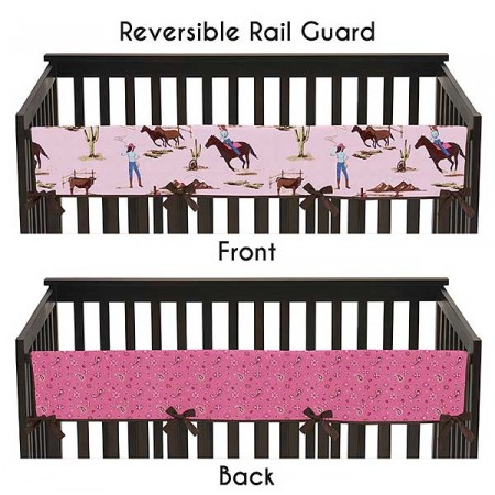 Cowgirl Collection Long Rail Guard Cover