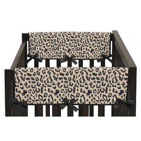 Animal Safari Collection Side Rail Guard Covers - Set of 2