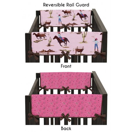 Cowgirl Collection Side Rail Guard Covers - Set of 2