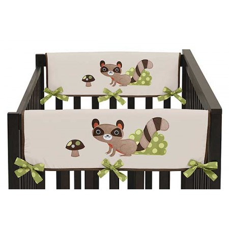 Forest Friends Collection Side Rail Guard Covers - Set of 2