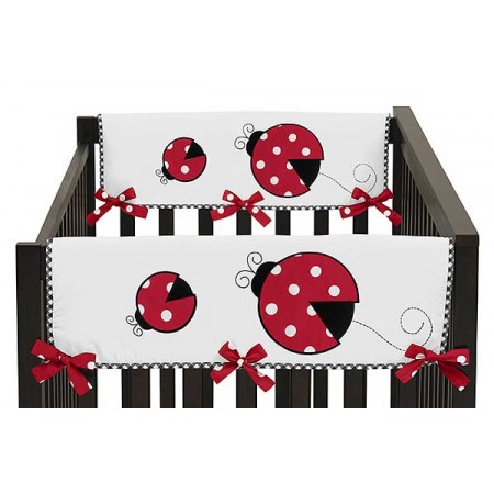 Little Ladybug Collection Side Rail Guard Covers - Set of 2