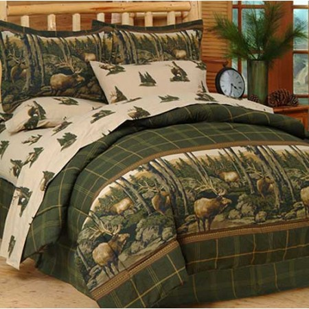 Rocky Mountain Elk Bed in a Bag Set - Twin Size