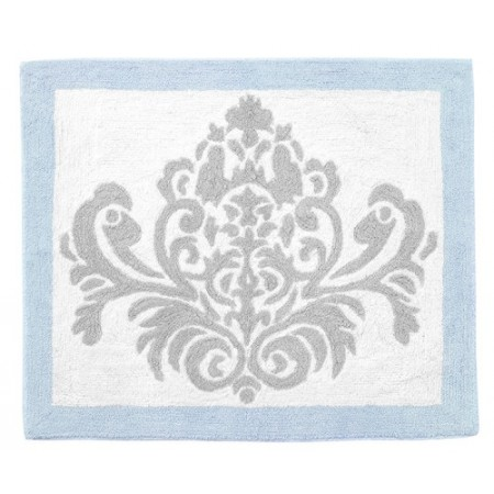 Avery Blue Floor Rug