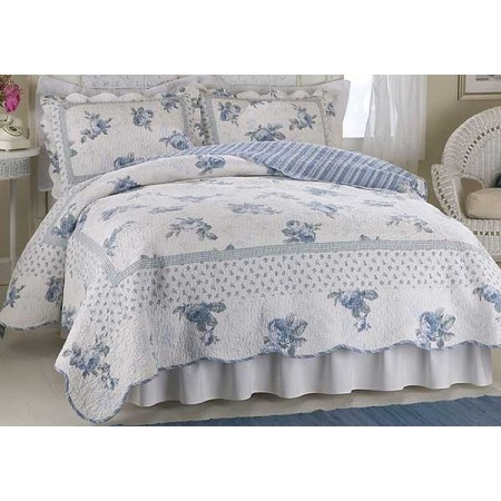 Rose Blossom Quilt - Full/Queen Size