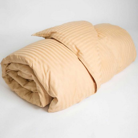 Extra Long Twin Size - Down Alternative Dorm Comforter - Gold